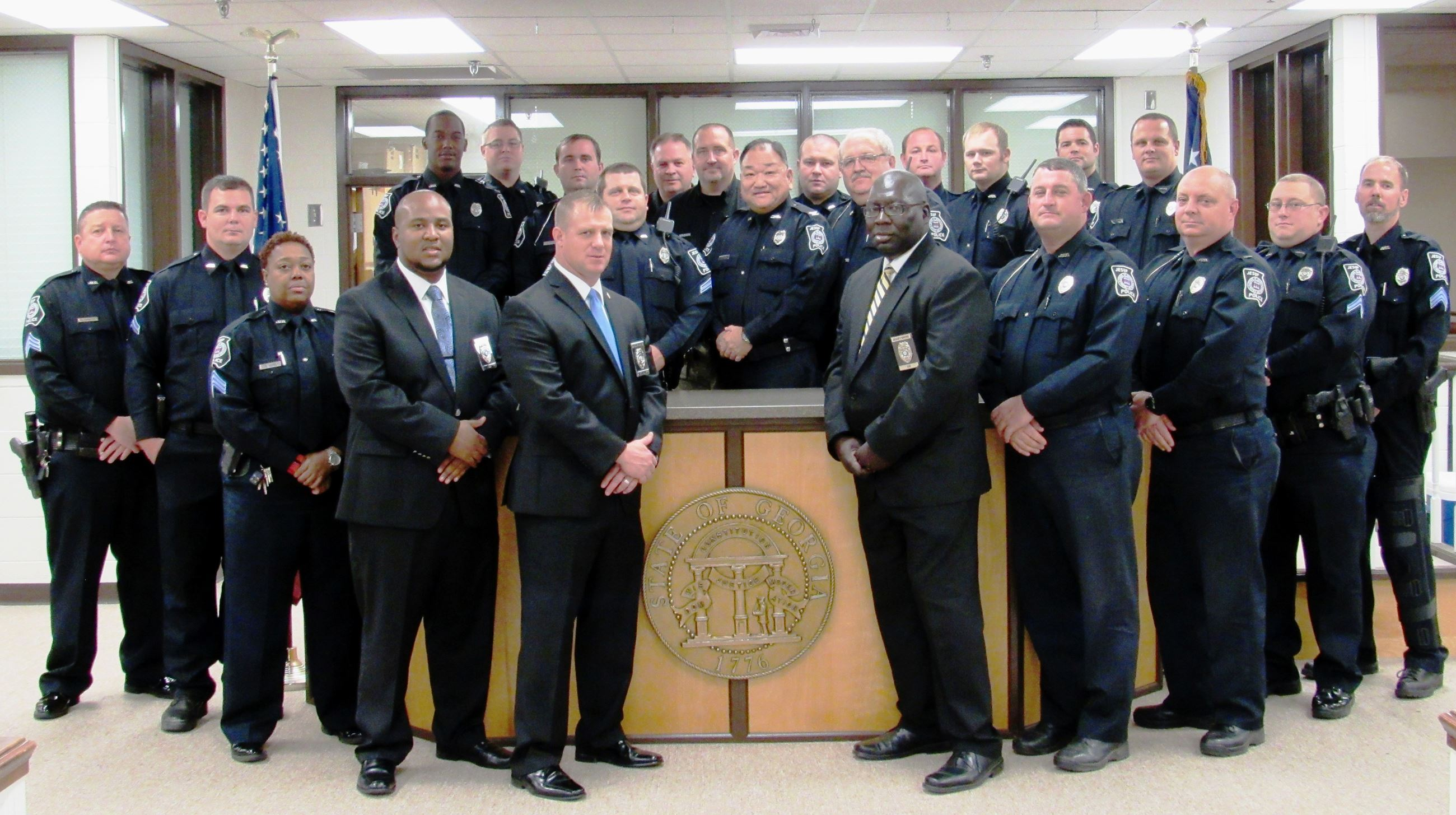 Jesup Police Department 2017