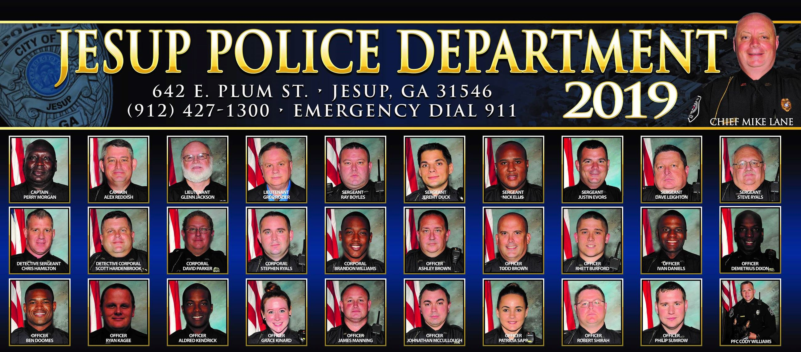 Jesup Police Department | Jesup, GA - Official Website