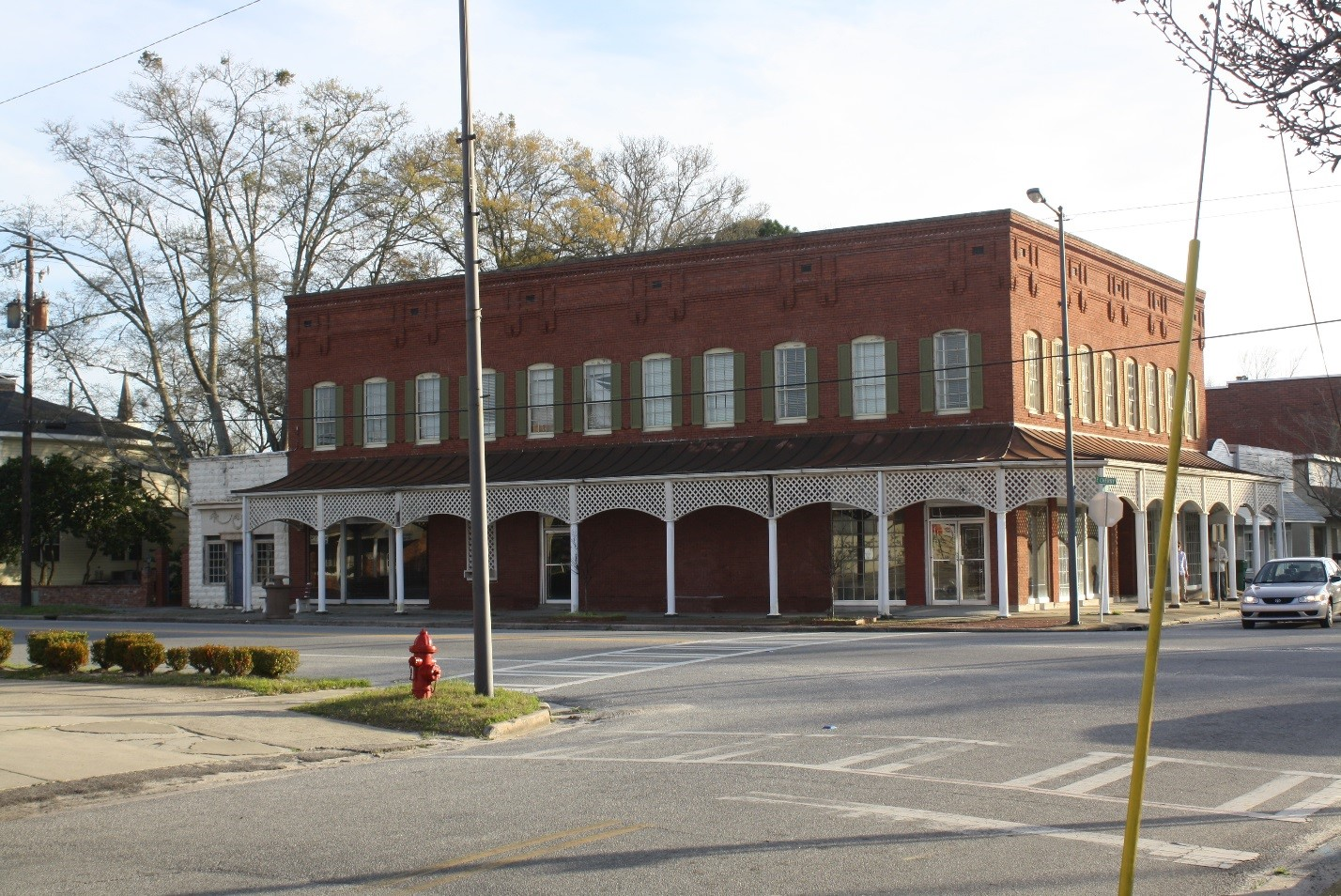 The Kicklighter Building was a commercial building constructed in the early 1890s.